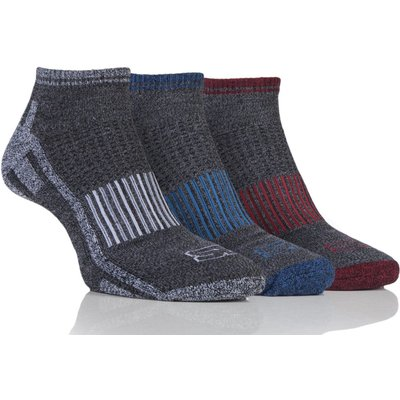 Mens 3 Pair Storm Bloc Trainer Socks