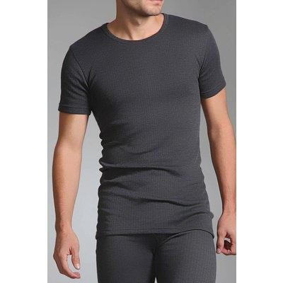 Mens SockShop Heat Holders Short Sleeved Thermal Vest - 5019041033569