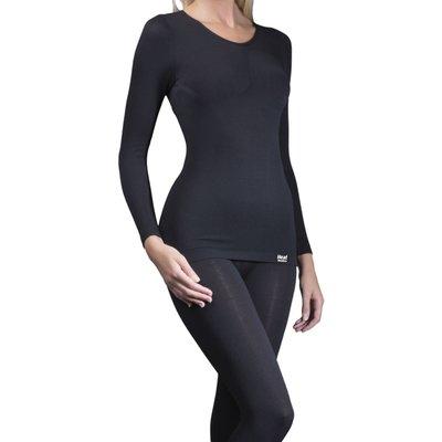 Ladies 1 Pack Heat Holders Long Sleeved 0 39 Tog Thermal Vest - 5019041041526