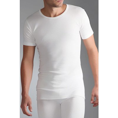 Mens SockShop Heat Holders Short Sleeved Thermal Vest - 5019041021276