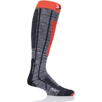 Mens and Ladies 1 Pair X-Socks Ski Rider 2.0 Skiing Socks