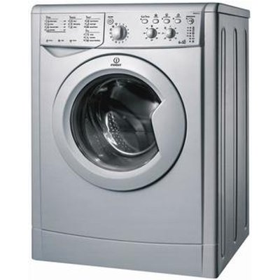 Indesit IWDC6125S Washer Dryer in Silver 1200rpm 6kg 5kg Electronic
