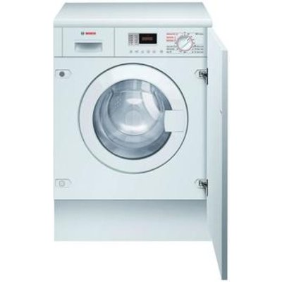 Bosch WKD28350GB Fully Integrated Washer Dryer in White 1400rpm 6kg 4k