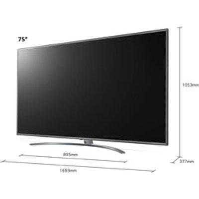 LG 75UN81006LB 75 4K UHD Smart LED TV Active HDR TruMotion TM100
