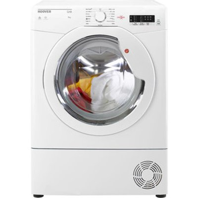 Hoover BHLC8LG 8kg Condenser Tumble Dryer in White Sensor B Energy