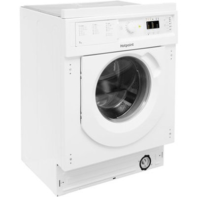 Hotpoint BIWDHL7128 Integrated Washer Dryer 1200rpm 7kg 5kg B Rated