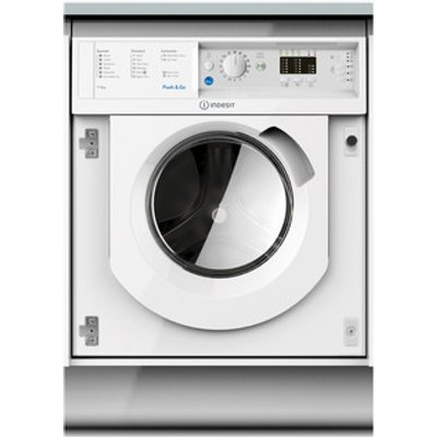 Indesit BIWDIL7125 Integrated Washer Dryer in White 1200rpm 7kg 5kg