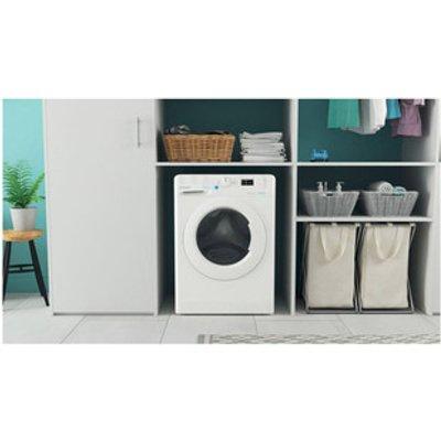 Indesit BWA81485XWUK Washing Machine in White 1400rpm 8Kg B Rated