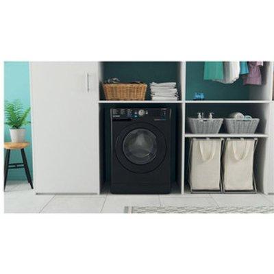 Indesit BWE91484XKUK Washing Machine in Black 1400rpm 9Kg C Rated