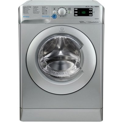 Indesit BWE91484XS INNEX Washing Machine in Silver 1400rpm 9kg A Rated