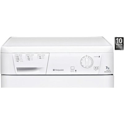 Hotpoint CDN7000BP 7kg AQUARIUS Condenser Tumble Dryer in White B Ener