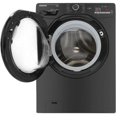 Hoover DHL1482DBB Washing Machine in Black NFC 1400rpm 8kg A Rated