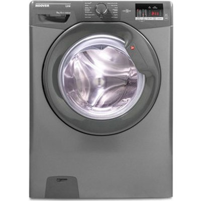 Hoover DHL1492DR3R Washing Machine in Graphite NFC 1400rpm 9kg A Rated