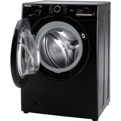 Hoover DHL149DB3B Washing Machine in Black NFC 1400rpm 9kg A Rated