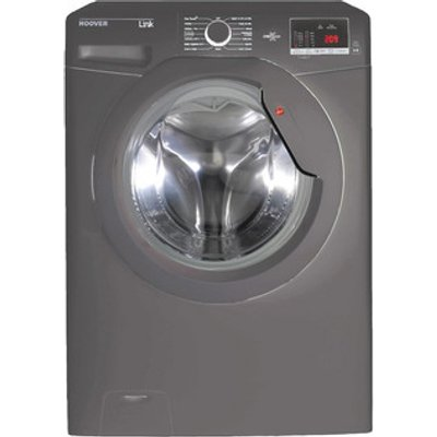 Hoover DHL1682DR3R Washing Machine in Graphite NFC 1600rpm 8kg A Rated