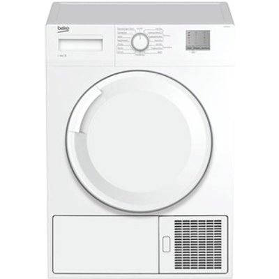 Beko DTGC8001W 8kg Condenser Tumble Dryer in White Sensor B Energy