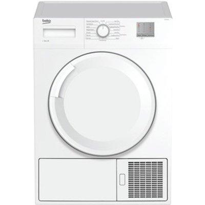 Beko DTGC8001W 8kg Condenser Tumble Dryer in White Sensor B Energy