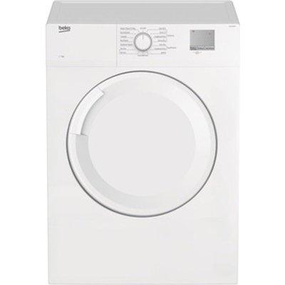 Beko DTGV7001W 7kg Vented Tumble Dryer in White Sensor C Energy
