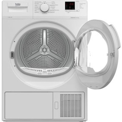 Beko DTLP81141W 8kg Heat Pump Condenser Dryer in White A Rated