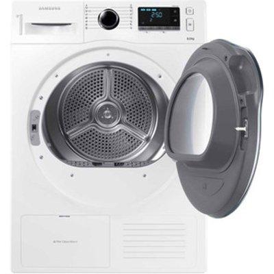 Samsung DV80K6010CW 8kg Heat Pump Condenser Tumble Dryer in White A