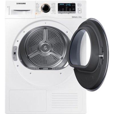 Samsung DV80M5013QW 8kg Heat Pump Condenser Dryer in White A Smart Che