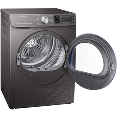 Samsung DV90N62642X 9kg Heat Pump Condenser Dryer Graphite A Smart Che