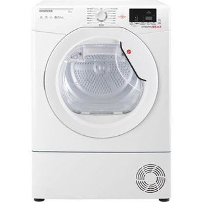 Hoover DXC8DE 8kg Condenser Tumble Dryer in White Sensor B Energy