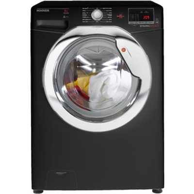 Hoover DXOC58C3B Washing Machine in Black 1500rpm 8Kg A Rated