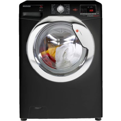 Hoover DXOC67C3B Washing Machine in Black 1600rpm 7kg A AA Rated
