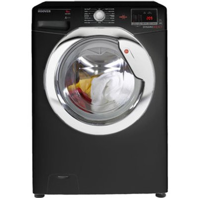 Hoover DXOC68C3B Washing Machine in Black 1600rpm 8kg A AA Rated