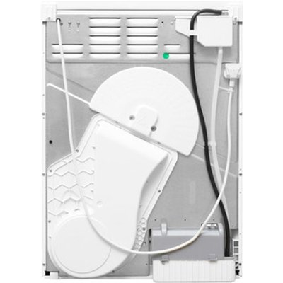 Indesit EDPE945A2ECO 9kg Heat Pump Condenser Tumble Dryer in White A R