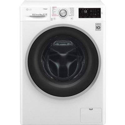 LG F4J6JY1W Washing Machine in White 1400rpm 10kg A Smart ThinQ