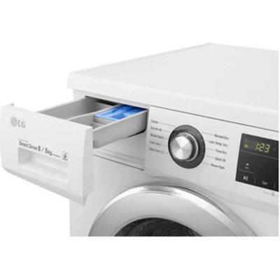 LG FWMT85WE Washer Dryer in White 1400rpm 8kg 5kg Smart Diagnosis