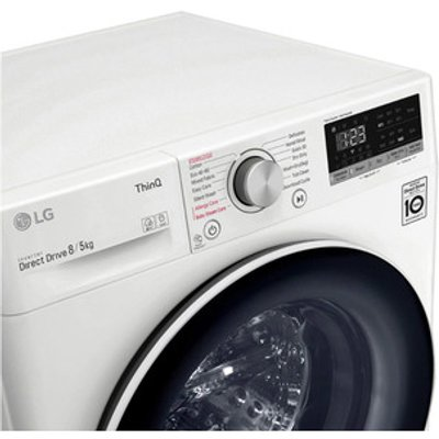 LG FWV585WSE Washer Dryer in White 1400rpm 8kg 5kg E Rated ThinQ