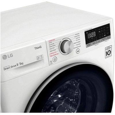 LG FWV595WSE Washer Dryer in White 1400rpm 9kg 5kg E Rated ThinQ