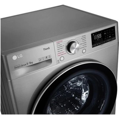 LG FWV796STSE Washer Dryer in Graphite 1400rpm 9kg 6kg E Rated ThinQ