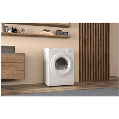 Hotpoint H1D80WUK 8kg Vented Tumble Dryer in White C Rated