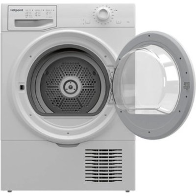 Hotpoint H2D71WUK 7kg Condenser Tumble Dryer in White B Rated