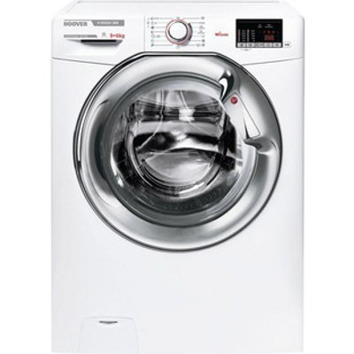 Hoover H3D4965DCE Washer Dryer in White 1500rpm 9 6Kg E Rated