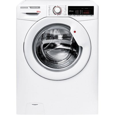 Hoover H3W4105TE Washing Machine in White 1400rpm 10Kg E Rated