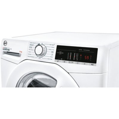 Hoover H3W49TE Washing Machine in White 1400rpm 9Kg D Rated NFC