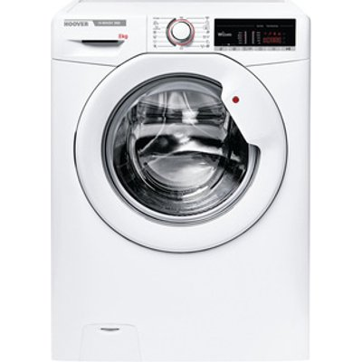 Hoover H3W58TE Washing Machine in White 1500rpm 8Kg A Rated