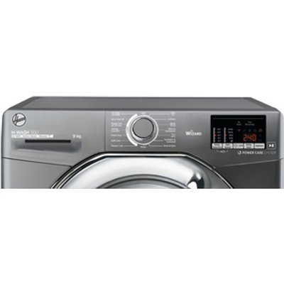 Hoover H3WS495DACGE Washing Machine in Graphite 1400rpm 9kg C Rated Wi