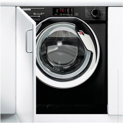 Hoover HBWM814DCB Fully Integrated Washing Machine 1400rpm 8kg A