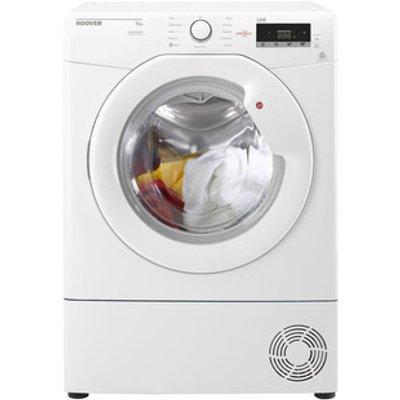 Hoover HLC9LG 9kg Condenser Tumble Dryer in White Sensor B Energy