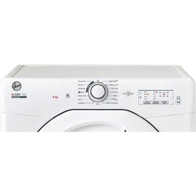 Hoover HLEC9LG 9kg NFC Condenser Tumble Dryer in White Sensor B Energy