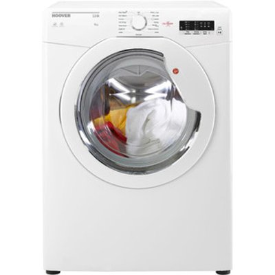 Hoover HLV8LG 8Kg Vented Tumble Dryer in White Sensor C Energy