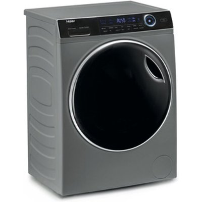 Haier HW80B14979S Washing Machine in Silver 1400rpm 8kg A Rated