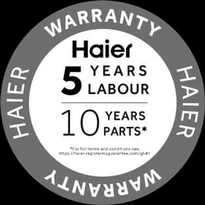 Haier HW100B14979S Washing Machine in Silver 1400rpm 10kg
