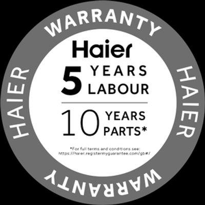 Haier HW80B14979S Washing Machine in Silver 1400rpm 8kg